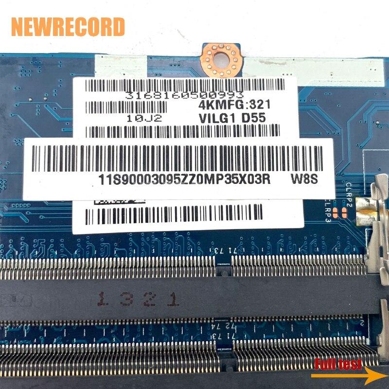 Купить с кэшбэком NEWRECORD 90003095 ILG1 G2 LA-9901P Rev 1.0 for lenovo ideapad G500s laptop motherboard GT720M GPU DDR3 HM76 fully tested