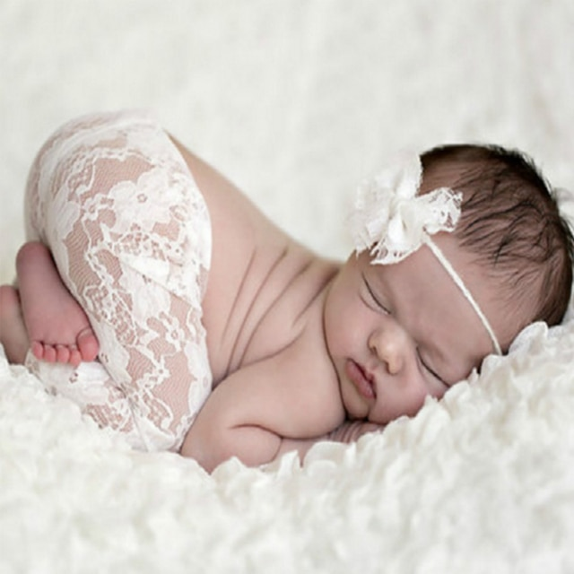 Baby Romper Deep V Backless Clothes Newborn Photo Photograph Lace Toddler Hollow Design Clothing 6