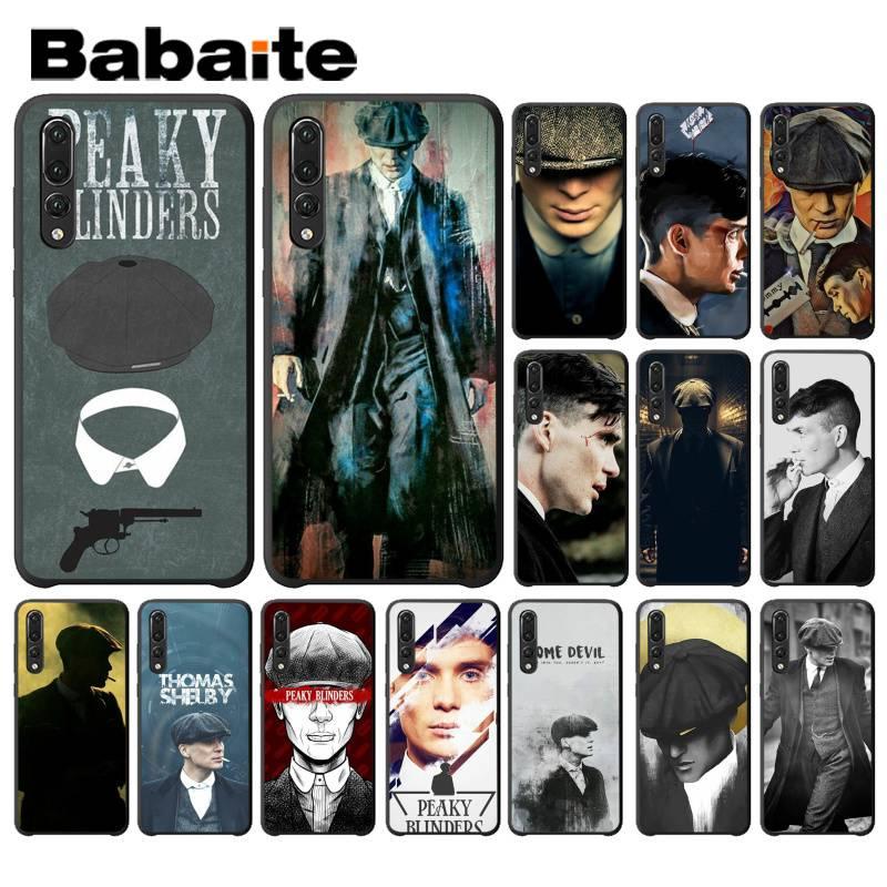 Babaite Sharp Visors Coque PEAKY BLINDERS Customer Phone Case for Huawei P9 P10 Plus Mate9 10 Mate10 Lite P20 Pro Honor10 View10