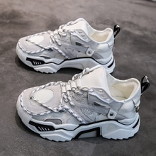 Zapatillas de deporte de mujer, calzado para correr al aire libre, zapatos deportivos para caminar, plataforma acolchada, sandalias transpirables, zapatos de mujer, M2-55