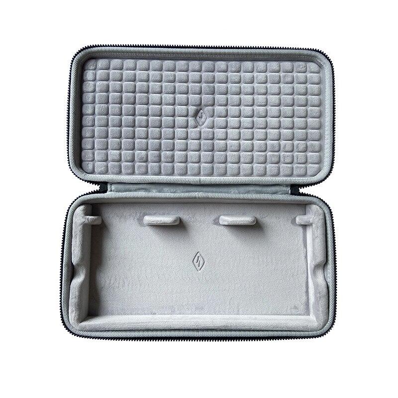 Rígido do Escudo da Proteção da Caixa de Armazenamento Portátil para o Estúdio Personalizado do Teclado Bolsa Cinzento Pacote Think6.5 v2