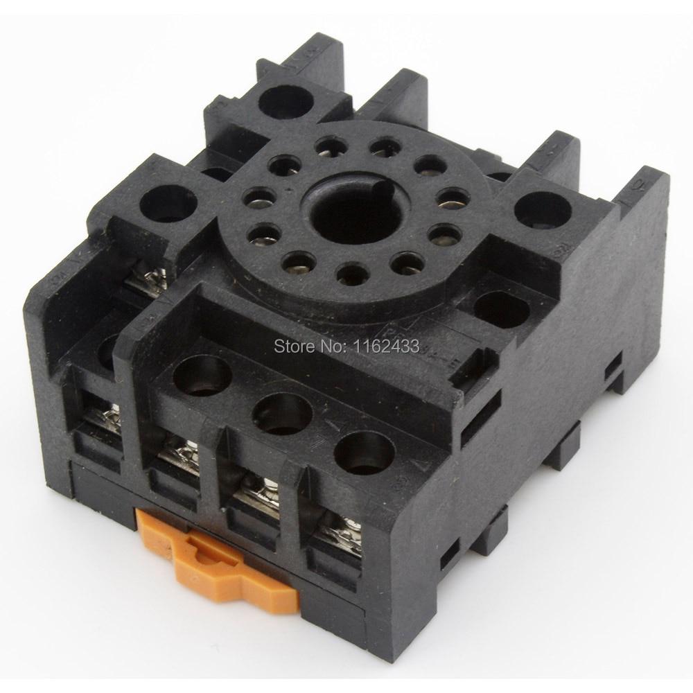 PF113A-E 11 pin zócalo de relé base para MK3P JTX-3C H3CR-A
