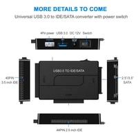 sata combo usb ide sata adapter hard disk sata to usb3 0 data transfer converter for 2 53 55 25 optical drive hdd ssd