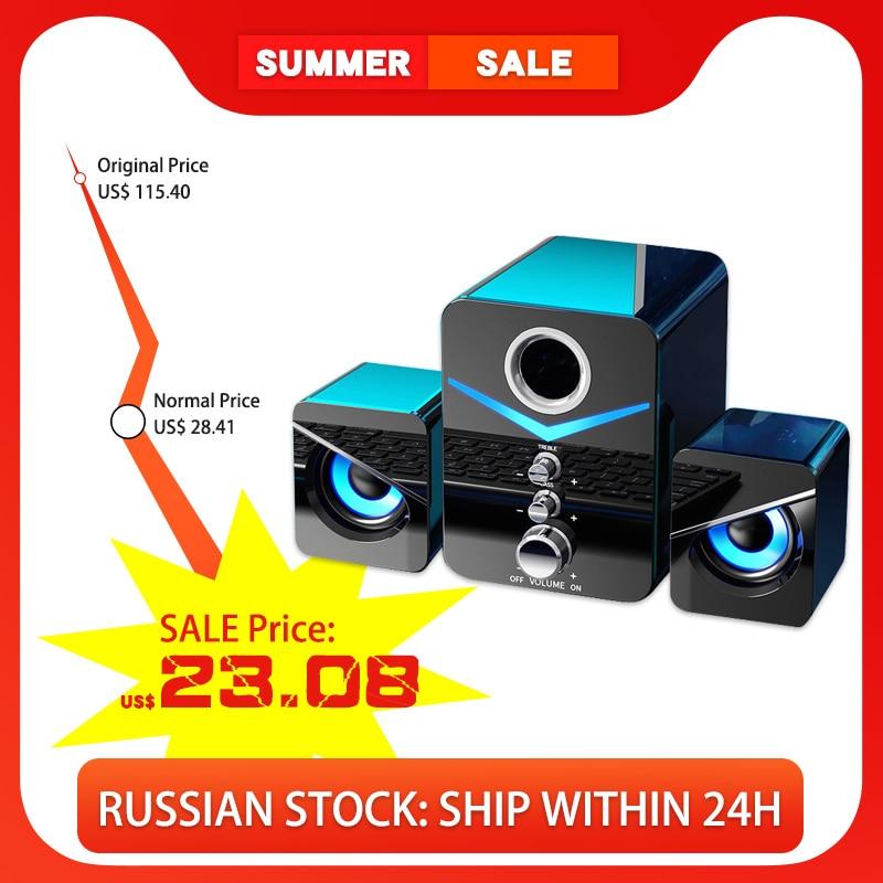 AliExpress - Home Theater System Caixa De Som PC Bass Subwoofer Bluetooth Speaker Computer Speakers Music Boombox Desktop Laptop Altavoces TV