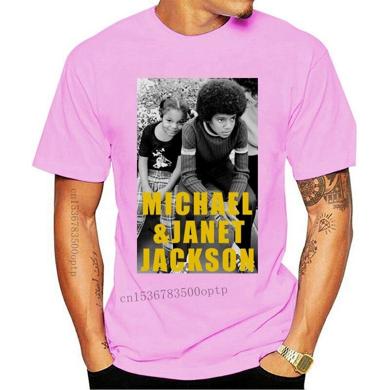 New Janet Jackson And Michael Jackson T-Shirt Size S-2Xl Fitness Tee Shirt