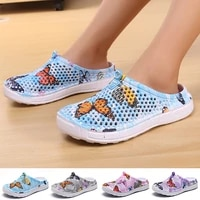womens casual clogs 2021 slip on quick dry water shoes beach sandals lightweight breathable bathroom slippers women flip flop