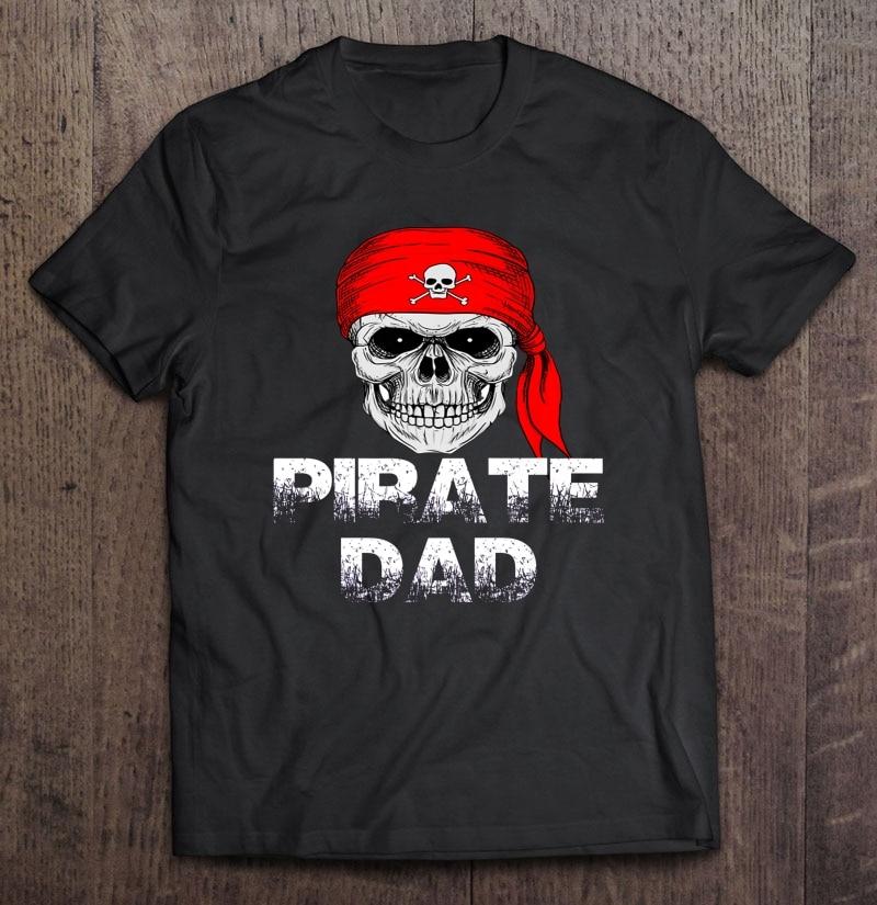 Camiseta pirata pai halloween version2
