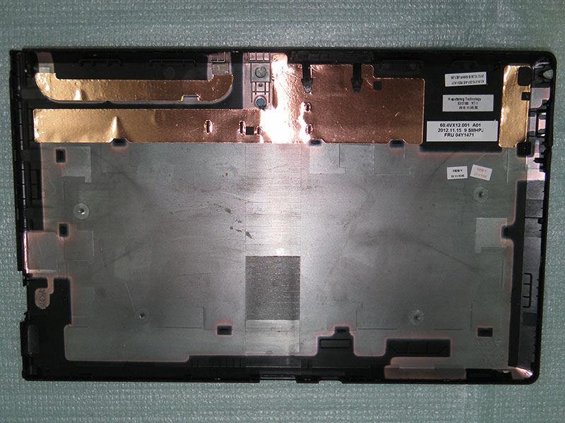 JIANGLUN, nueva carcasa trasera, reemplazo de la carcasa trasera, pieza para Lenovo Thinkpad Tablet 2