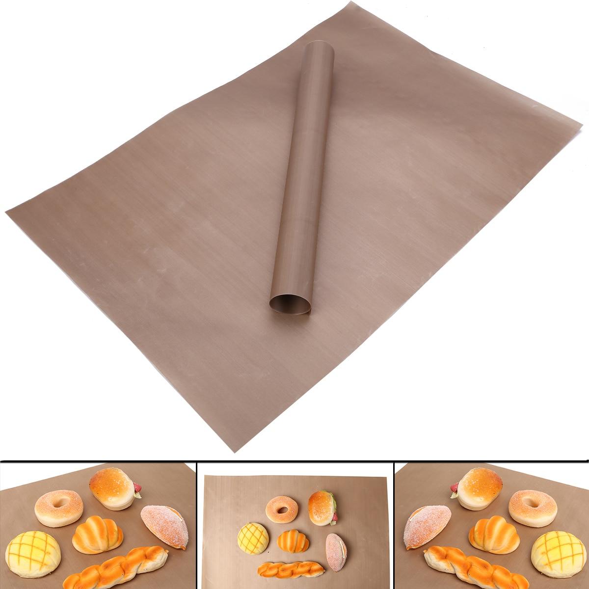 Mayitr, 2 uds., estera para hornear Parrilla de barbacoa, estera antiadherente, esteras para parrilla de barbacoa al aire libre, utensilios para hornear de cocina resistentes al calor