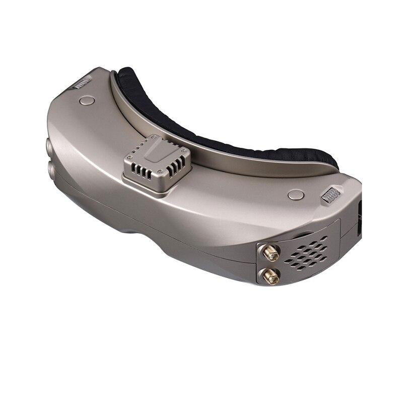 سكاي زون SKY04X OLED 5.8G 48CH جهاز استقبال ثابت 1280*960 DVR FPV نظارات مع مروحة تتبع الرأس لطائرة RC FPV سباق