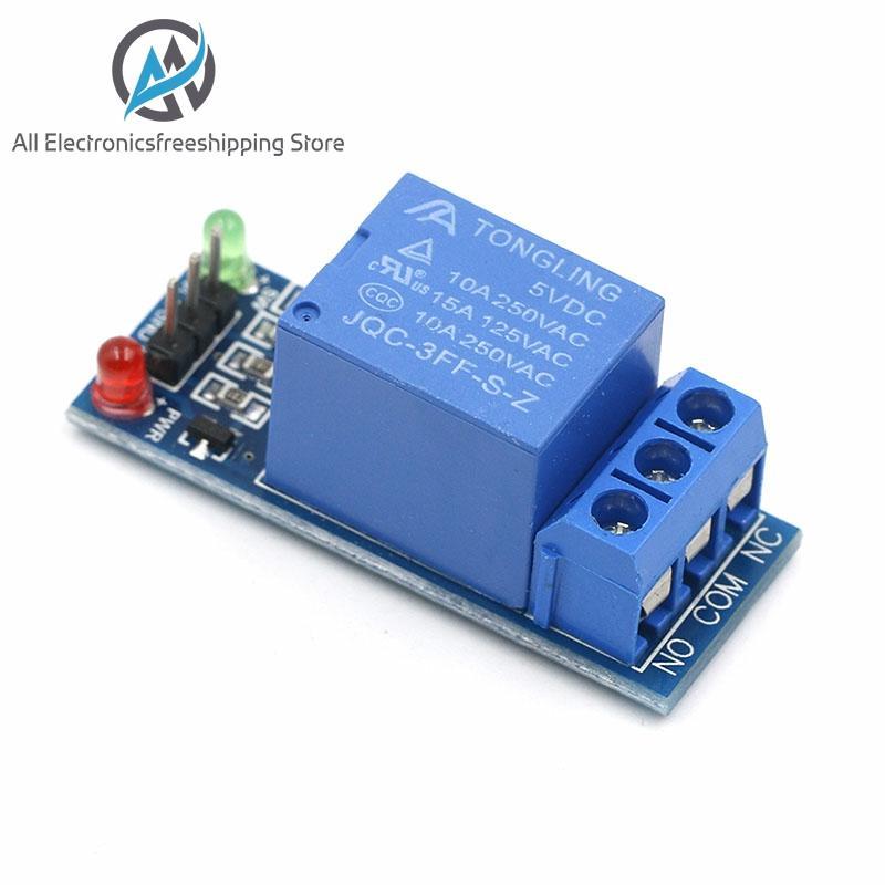 5V 12V low-level-trigger Eine 1 Kanal Relais Modul interface Board Schild Für PIC AVR DSP ARM MCU für Arduino