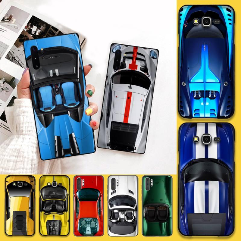 YJZFDYRM luxury cool sports car Phone Case For Samsung Galaxy Note20 ultra 7 8 9 10 Plus lite J7 J8