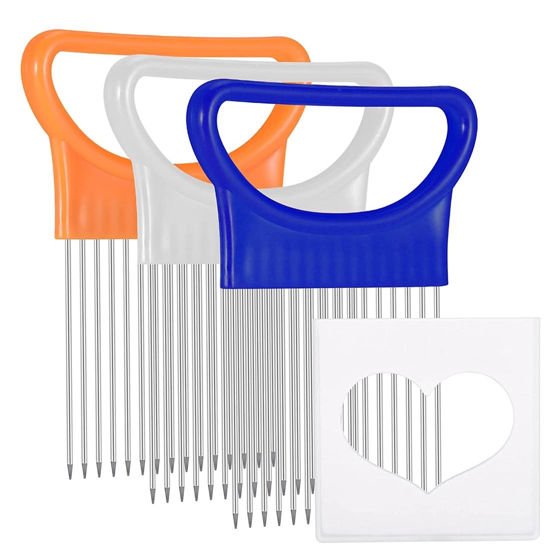 Кухонные гаджеты, слайсер для лука, быстрая безопасная вилка, инструменты для нарезки овощей, резак для овощей, кухонные аксессуары