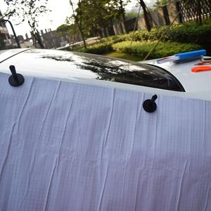Image 3 - 4 шт. Эффективный мощный магнитный держатель для автомобильной фольги, инструмент для фиксации магнитной оболочки автомобиля 4A12
