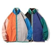 eridanus mens autumn style stitching couple loose tooling jacket street trend casual jacket men wear on both sides coat mwj245