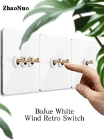 brass toggle switch 1 4 gang 2 way white stainless steel panel wall light switch usb eu socket wall electrical outlets panel