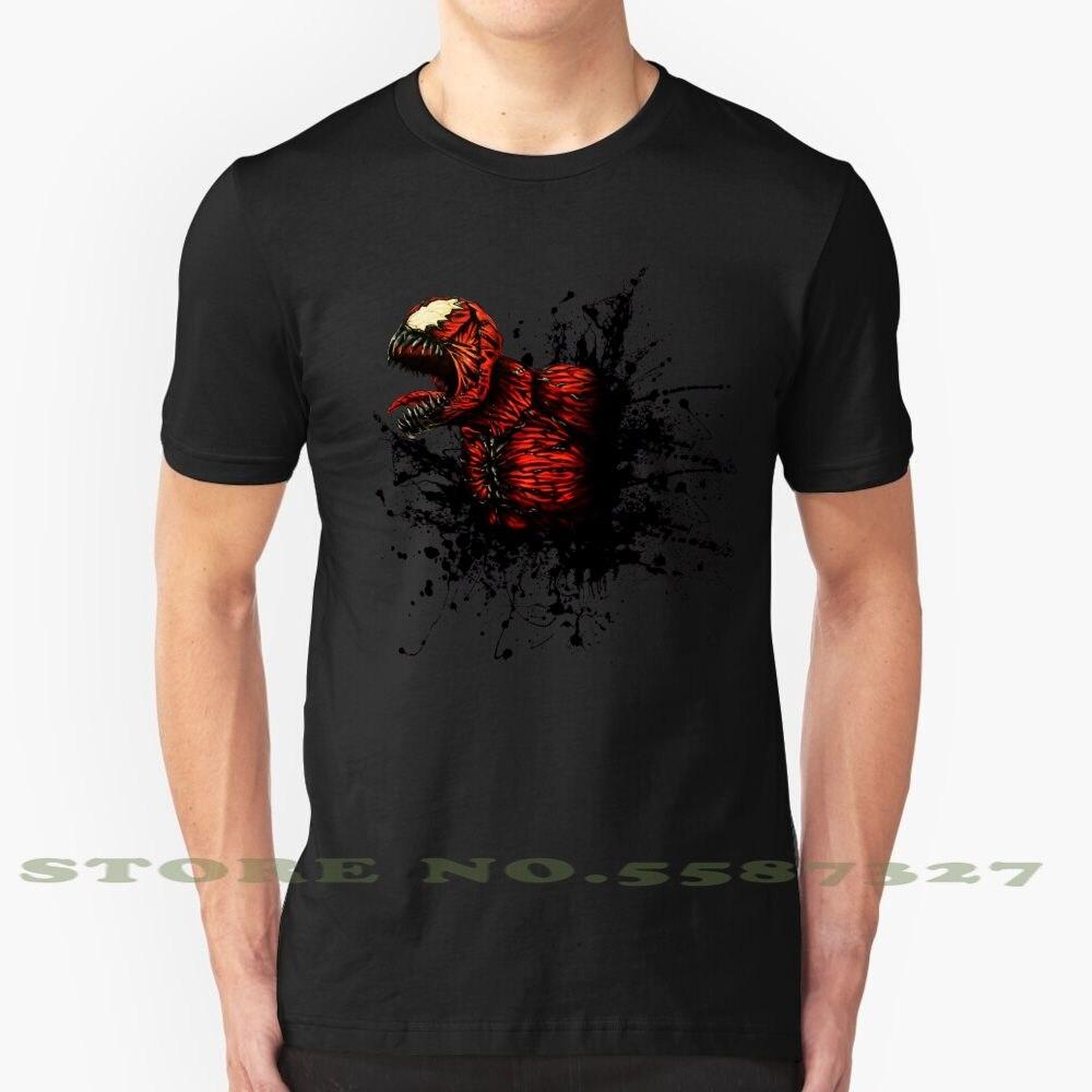 Camiseta a la moda con diseño genial del hijo de la araña Symbiote, camiseta de Carnage Venom Villain Horror aterrador Leehoward Leehowardart Howard