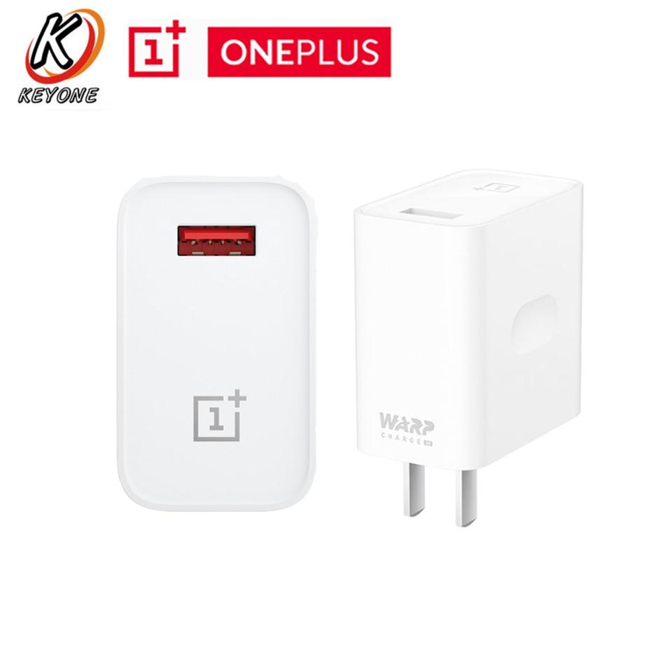Cargador OnePlus, adaptador de corriente de 30W, 100% carga de urdimbre Original 30, carga rápida OnePlus urdimbre para Oneplus 8/7T/7 Pro