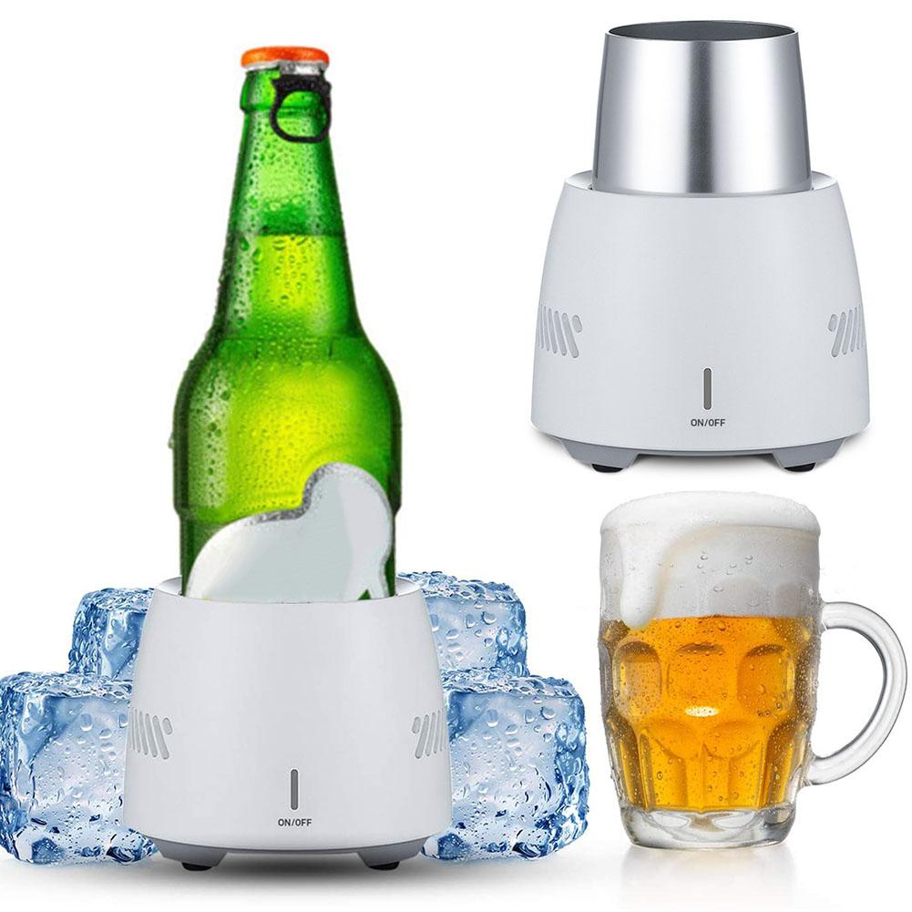 ¡Gran oferta! Enfriador rápido de bebidas, taza eléctrica de cerveza, botella de agua, Soda, bebidas, Enfriador de bebidas portátil, Verano