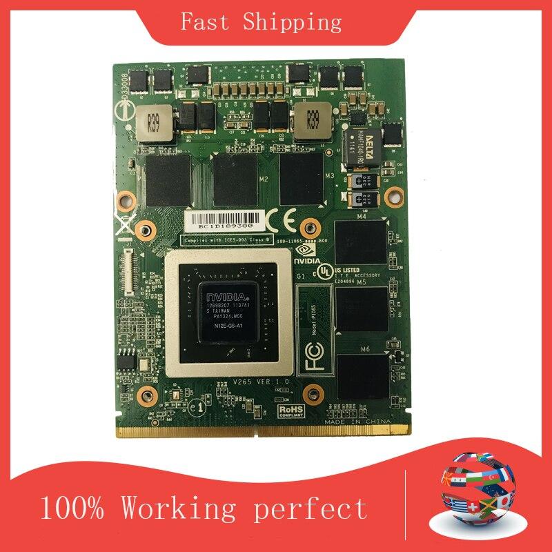 الأصلي GTX560M GTX 560M بطاقة الفيديو مع X-قوس لديل M17X M18X MSI 16F1 16F2 N12E-GS-A1 DDR5 1.5G عرض رسم بطاقة