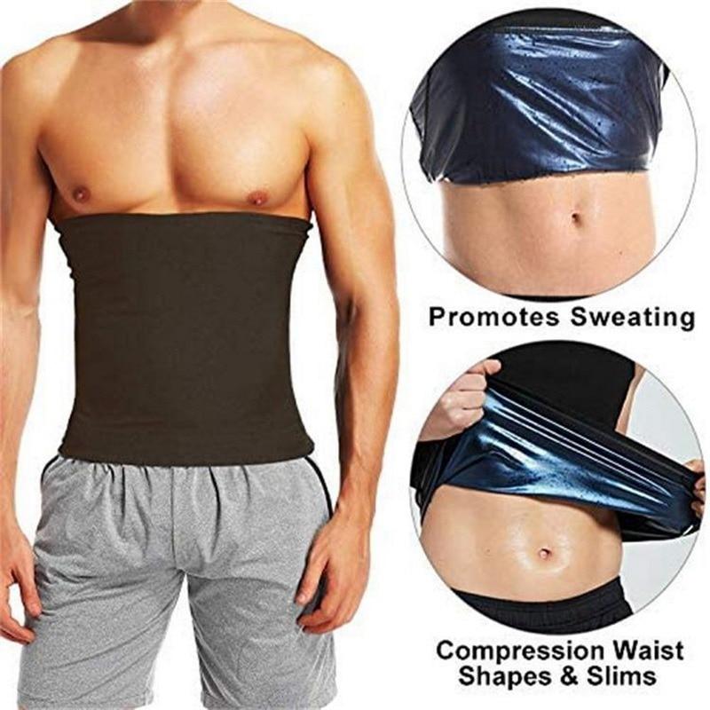 AliExpress - Mens Abdomen Reducer Sauna Body Shaper Fitness Sweat Trimmer Belt Waist Trainer Belly Slimming Shapewear Waist Trainer Corset