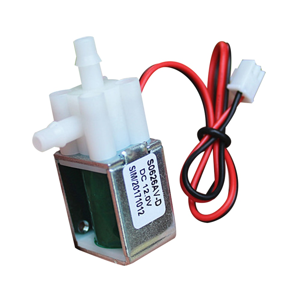 ebowan g1 4 24v 12v water solenoid valves normally closed 2 way dc 0 120psi 0 0 8mpa ro solenoid valve Mini Solenoid Valve Normally Closed Air Valves DC 12V Electric Vent Micro Valve For Household Accessories Garden Watering Valve