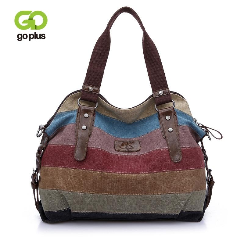 GOPLUS حقيبة كروسبودي خمر للنساء 2021 جودة عالية قماش حقيبة يد حقائب كتف السفر الإبط حقيبة سعة كبيرة حقائب اليد