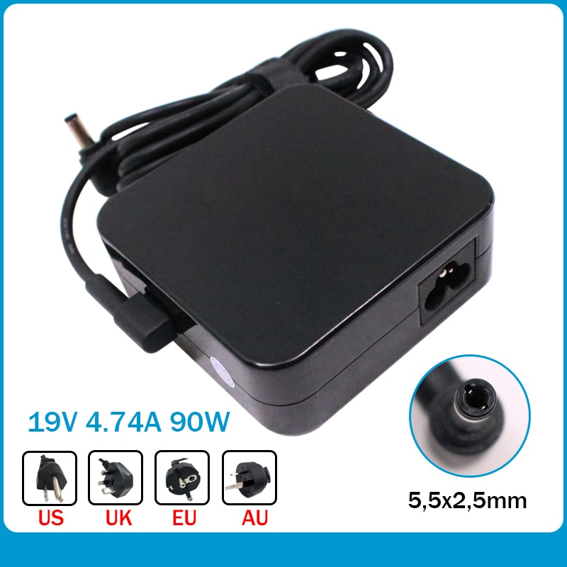 Nuevo carregador adaptador de corriente portátil parágrafo Asus Q550 Q550LF Q550LF-BBI7T07 Compatível con PA-1900-48 PA-1900-42 cargado