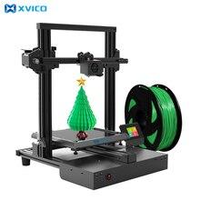 Xvico kit de impressora 3d alta precisão impressão 3d diy 2.4 polegada cor tela sensível ao toque removível placa vidro máquina impressão 3d impressoras