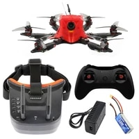 feichao 175mm six axle mini airframe fpv carbon fiber diy rc drone with omni f4 prov2 flight controller built in osd bec