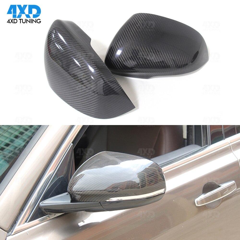 Espelho Lateral Do Carro Cobertura Para Jaguar XK XKR XJ XF XE carbono Espelho Retrovisor Capa 2010 2011 2012 2013 2014 2015 2016 2017 2018 2019