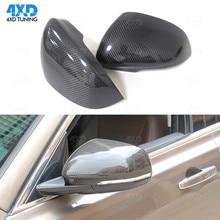 XK Side Car Mirror Cover For Jaguar XF XE XJ XKR carbon RearView Mirror Case 2010 2011 2012 2013 2014 2015 2016 2017 2018 2019