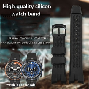 Silicone Watch Band  for  citi-zn AW1477 1476 1479 CA4154 4155 4156 Men's Bracelet  23mm