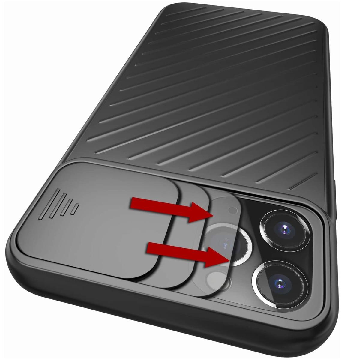 Funda protectora de cámara para iPhone 11 Pro Max XR XS MAX 6 6S 7 8 Plus X, funda deslizante de TPU suave, funda protectora para teléfono 11