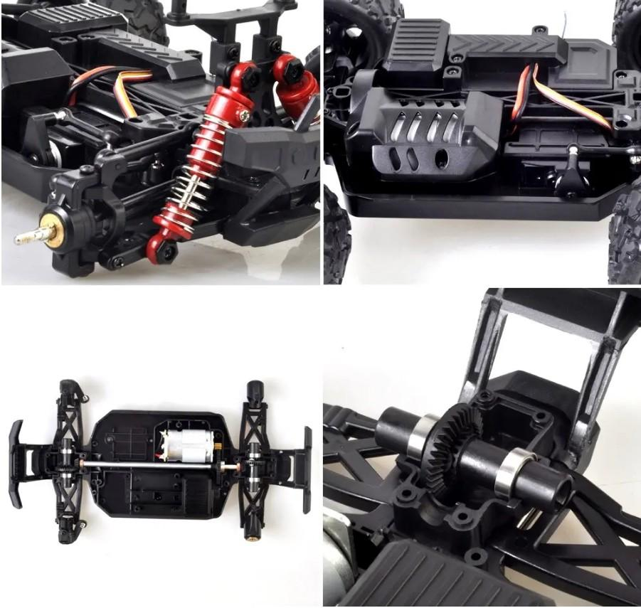 HS 18322 1/18 2.4G 4WD 36km/h RC Car Model Proportional Control Big Foot Off-Road Truck RTR Vehicle enlarge