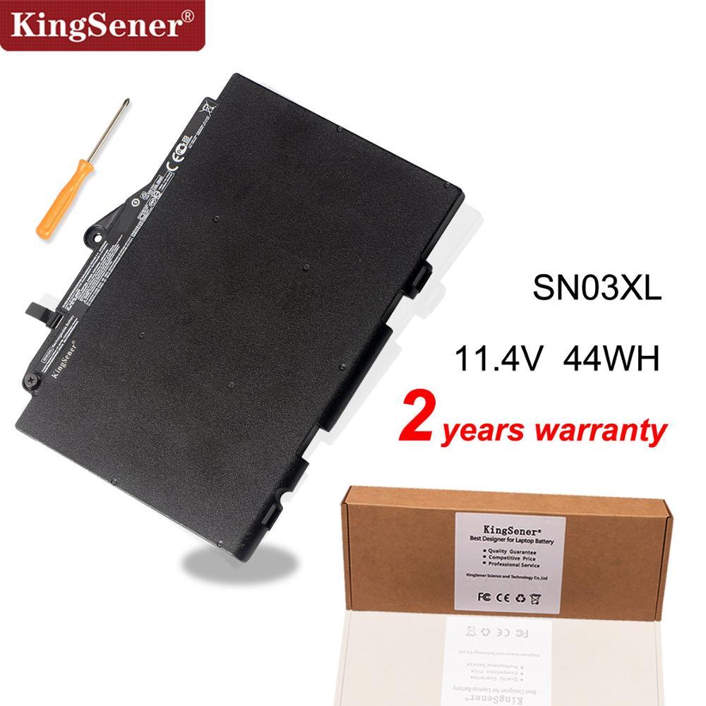 Kingsener SN03XL Laptop Battery For HP EliteBook 820 725 G3 G4 800514-001 800232-241 HSTNN-UB6T HSTNN-DB6V 11.4V 44WH kingsener cm03xl battery for hp elitebook 840 845 850 740 745 750 g1 g2 series hstnn db4q hstnn ib4r lb4r e7u24aa 716724 171