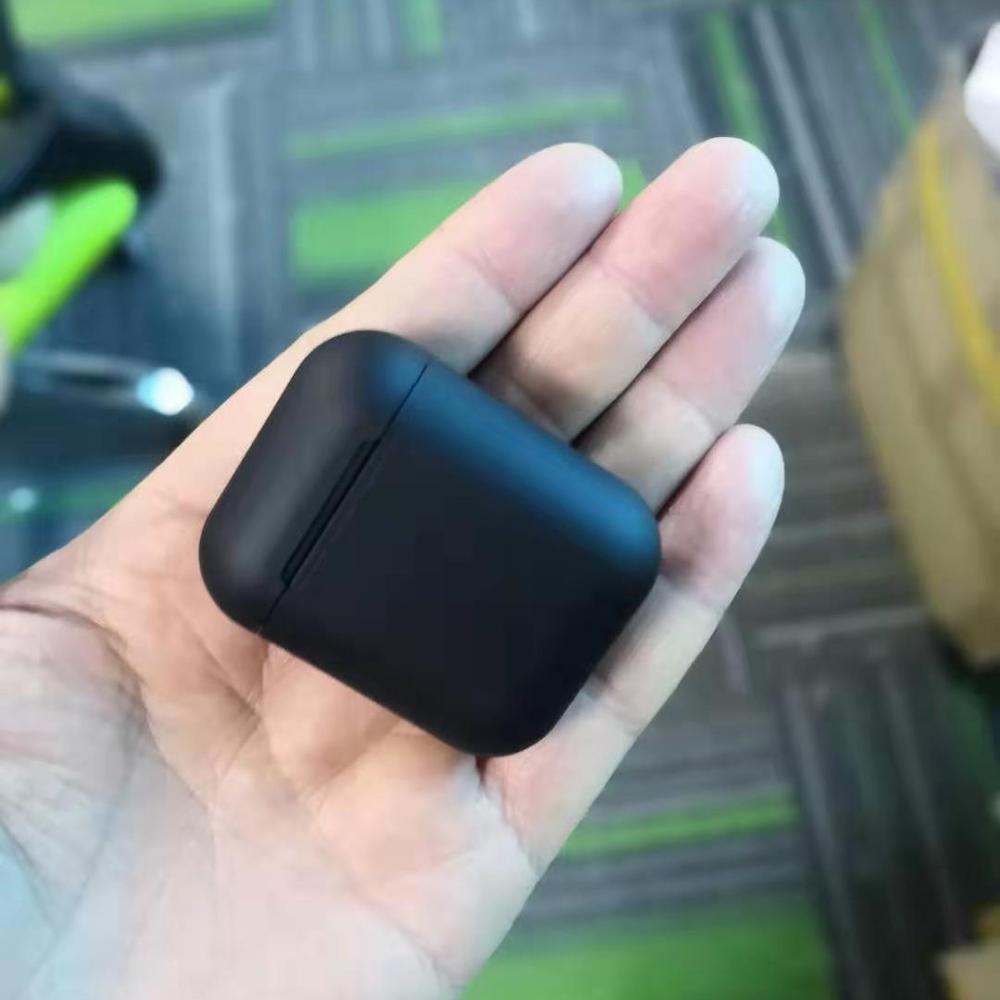 Матовые беспроводные наушники BlackPods 99% same Air 2 Copy, умный светильник, Bluetooth наушники, всплывающее Беспроводное зарядное устройство, гарнитуры