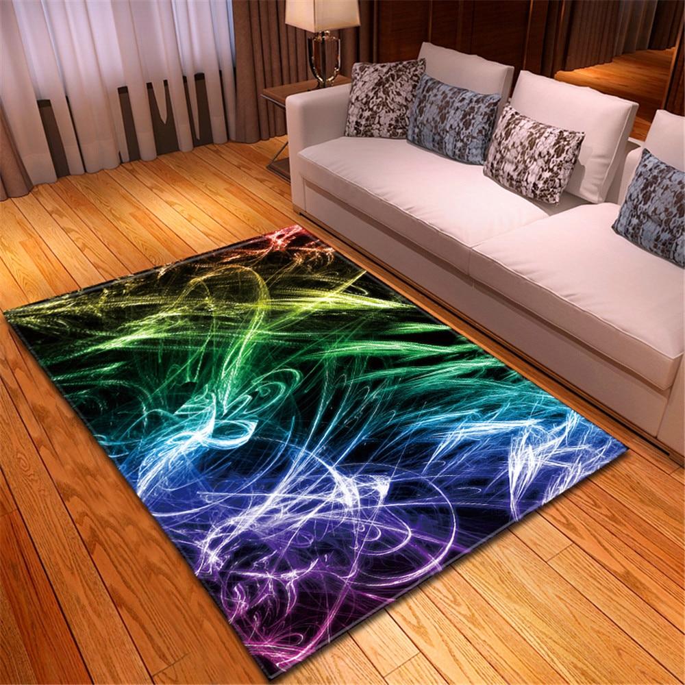 المألوف الحديثة نمط اللون نمط السجاد سجادة غرفة معيشة مكافحة زلة الفانيلا المطبخ الممر منطقة السجاد-ss