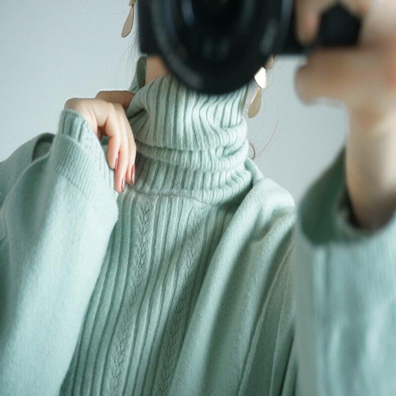 2021 New Women 's Long Knit Cardigan Sakura Pink Cashmere Long Loose Hooded Knit Cardigan Women enlarge