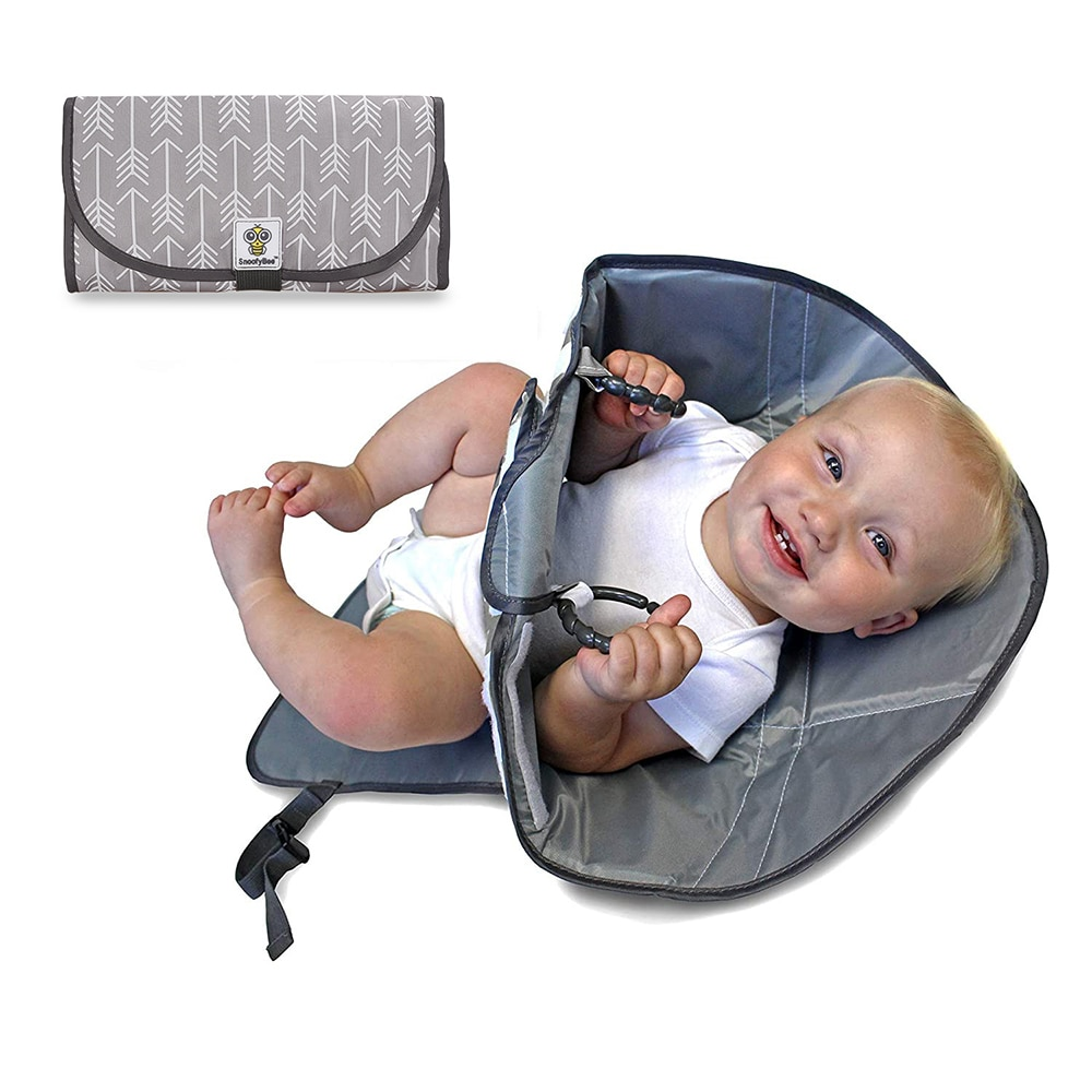 2021 New Waterproof Changing Pad Diaper Travel Multifunction Portable Baby Diaper Cover Mat Clean Hand Folding Diaper Bag