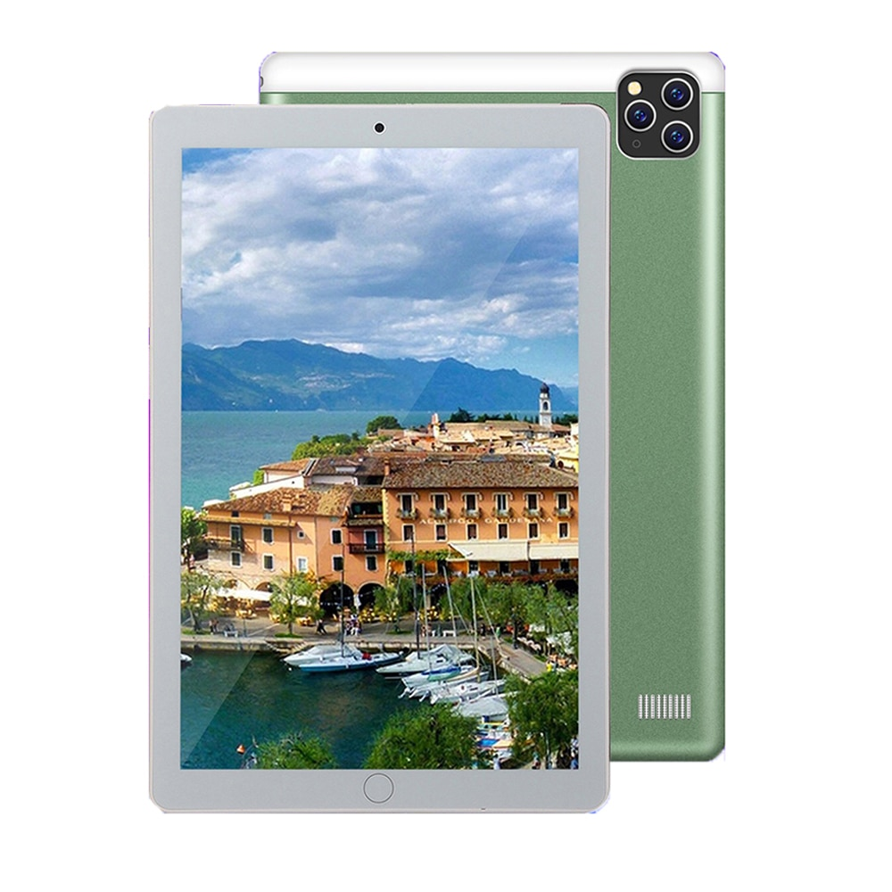 2021 The Lastest 10.1 Inch Tablet  6GB RAM 128GB ROM Android 8.0 System Tablet 4G LTE 1960×1080 Bluetooth GPS Large Screen