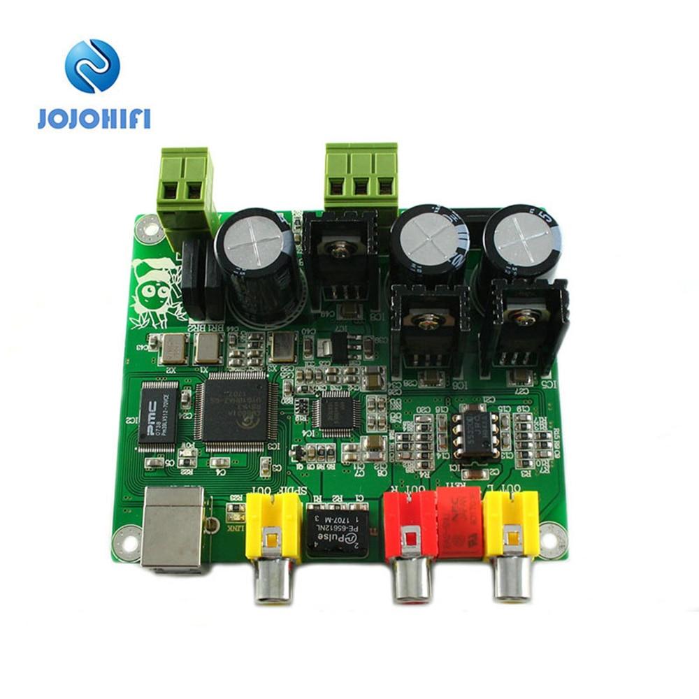 32BIT384K / USB DAC (CM6631A + AKM4490) DAC 32 384K DAC Flaggschiff Stabilisiertes Netzteil DAC Decoder Board