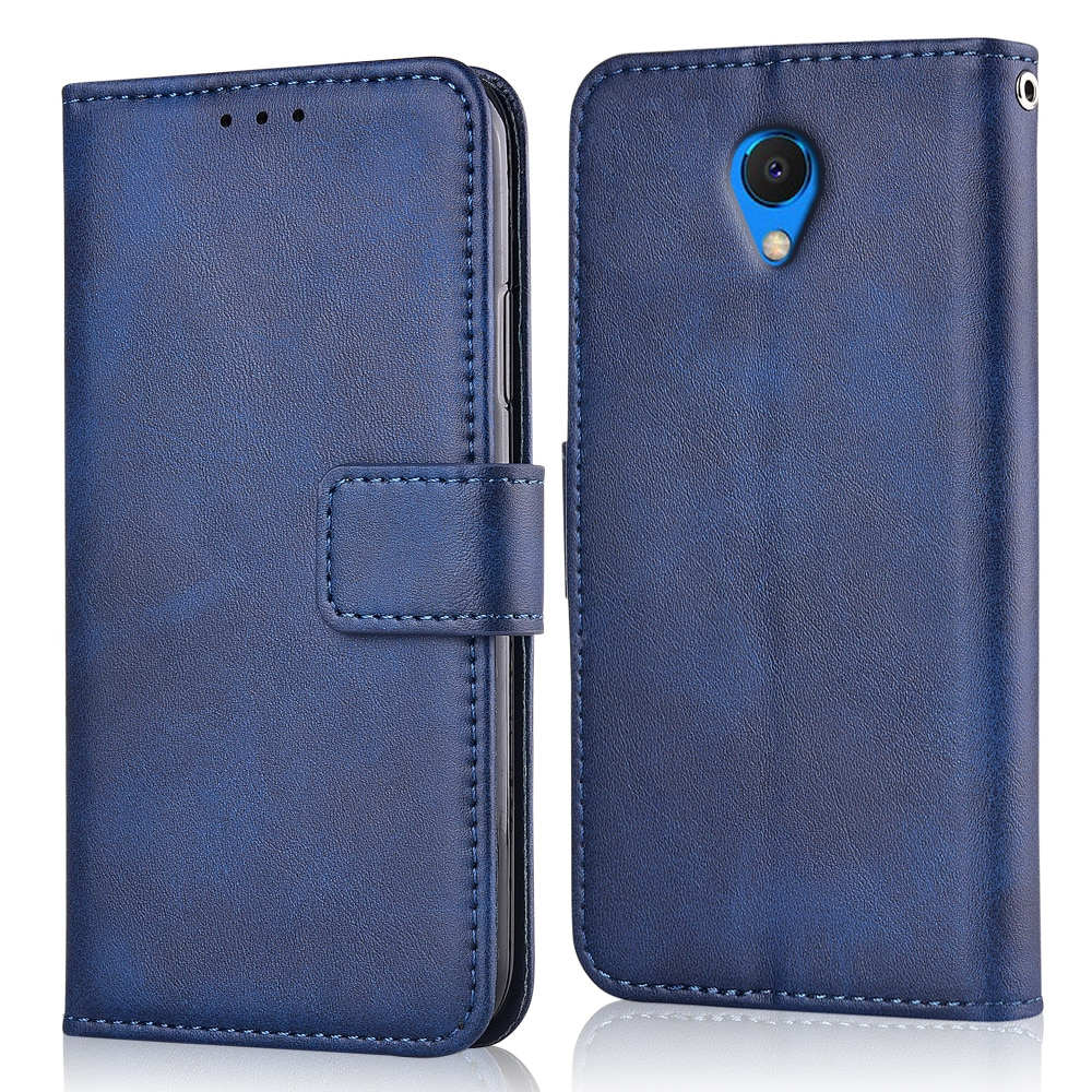 For On Meizu M6s S6 Case For Meizu M6s S6 Coque Plain Glossy Matte Wallet Leather Case For Meizu M6s