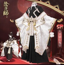 Jeu chaud Onmyoji Onikiri Cosplay Costumes mode Jacquard Satin Kimono costume ensemble complet rôle Paly accessoire en Stock de haute qualité