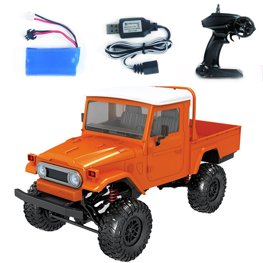 1:12 4WD MN-45/MN-45K RC Crawler Car 2.4G Remote Control Big Foot Off-road Crawler Military Vehicle Model RTR Toy For Kids Gift 1 12 mn 90k rc crawler car 2 4g 4wd remote control big foot off road crawler military vehicle model rtr remote control truck toy