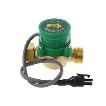 """Interruptor de flujo de bomba HT-120 G1/2 """"-1/2"""" interruptor de flujo de bomba de circulación de agua caliente y fría 1.5A"""