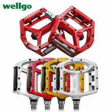 Licht gewicht Hohe qualität Perfekte Wellgo MG1 MG-1 Magnesium Spindel Achse Berg BMX Fahrrad Plattform Pedale MTB fahrrad pedale