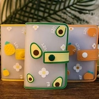 exquisite 20 card slots cute card holder cartoon anti degaussing card holder popular ultra thin multi position nice card holder
