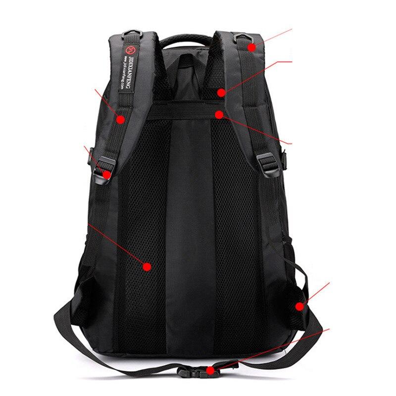 Дорожный рюкзак для альпинизма, мужской водонепроницаемый спортивный походный рюкзак 60 л, унисекс комплект для альпинизма для улицы, мужск...