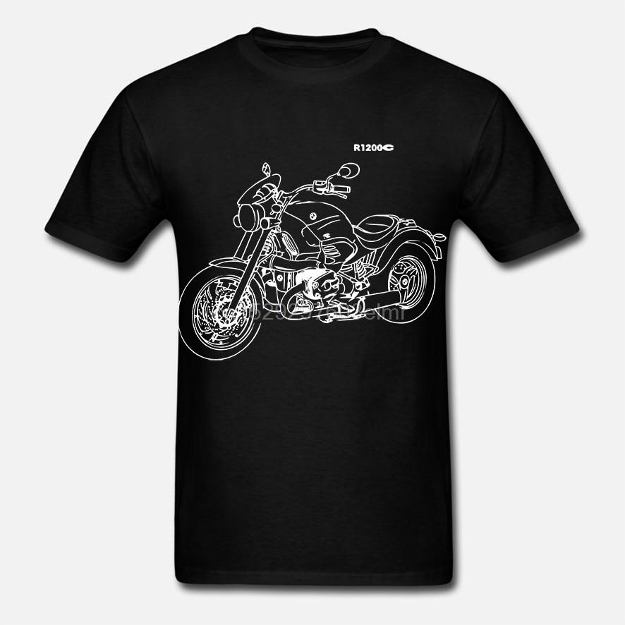 Moda r1200c camiseta mit der grafik r 1200c motorcycle rally r 1200 c motorrad-fahrer camiseta
